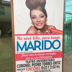 "Photo taken at Teatro Universitario ""Cnel. Pedro Torres Ortíz"" by Emma M. on 2/5/2015"