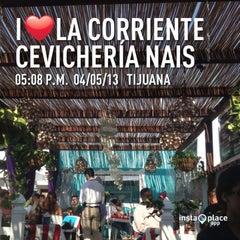 Photo taken at La Corriente Cevichería Nais by Karen F. on 5/5/2013