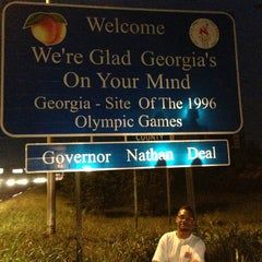 Photo taken at Georgia/Tennessee State Line by Erlie P. on 7/6/2013