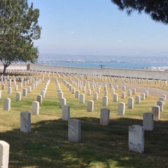 Photo taken at Fort Rosecrans National Cemetery by Peter B. on 5/11/2013