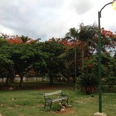 Photo taken at Parque Las Praderas by Ki S. on 6/8/2013