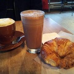 Photo taken at Café Olimpico by Lili W. on 4/7/2013