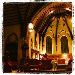 Photo taken at Packer Memorial Church by Joseph W. on 10/1/2012
