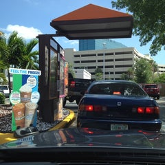 Photo taken at Dunkin Donuts by Andrew B. on 5/17/2014