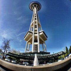 Photo taken at Space Needle by Ryan Raymond Y. on 4/26/2013