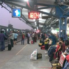 Photo taken at Gurgaon Railway Station (GGN) by Nitish M. on 10/20/2014