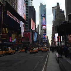 Photo taken at Times Square Alliance by Nick M. on 1/19/2014