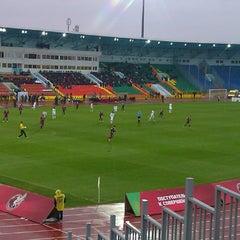 Photo taken at Центральный Стадион / Central Stadium by Марина М. on 10/27/2013