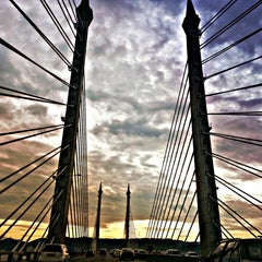 Photo taken at Penang Bridge by Carmen T. on 7/3/2013