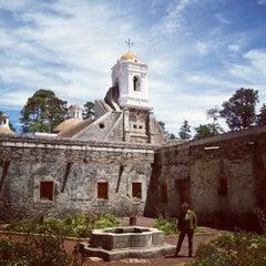 Photo taken at Ex Convento del Desierto de los Leones by Omar C. on 3/17/2013