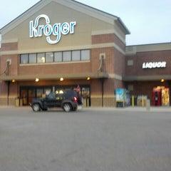 Photo taken at Kroger by Rachel W. on 3/9/2013