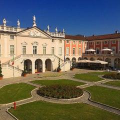 Photo taken at Villa Fenaroli Palace Hotel by Ozgur K. on 10/20/2015