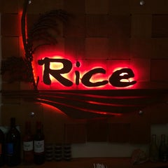 Photo taken at Rice by Will G. on 10/18/2014