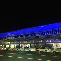 "Photo taken at Aeropuerto Internacional de Guadalajara ""Miguel Hidalgo y Costilla"" (GDL) by Marisol R. on 4/11/2013"