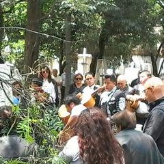 Photo taken at Panteón San Rafael by Danito h. on 9/11/2014