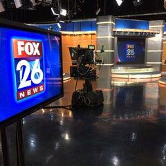 Photo taken at FOX 26 (KRIV-TV) by Gil G. on 11/23/2015