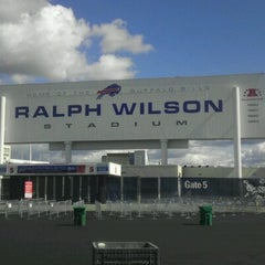 Photo taken at Ralph Wilson Stadium by Carlos C. on 9/15/2012