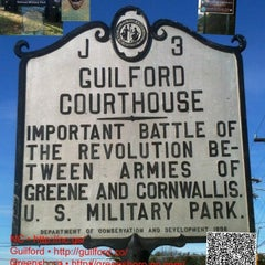 Photo taken at Guilford Courthouse National Military Park by Greensboro, NC on 1/5/2012