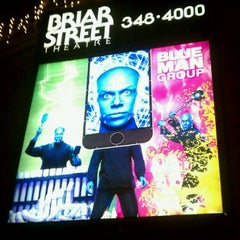 Photo taken at Blue Man Group at the Briar Street Theatre by Mayra on 2/5/2012