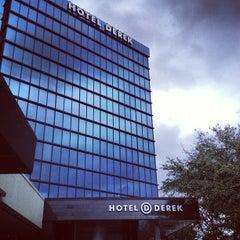 Photo taken at Hotel Derek by Doe D. on 2/18/2013