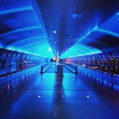 Photo taken at Manchester International Airport (MAN) by Kostas K. on 4/27/2013