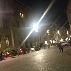 Photo taken at Piazza Giacomo Matteotti by ik0mmi a. on 1/21/2013