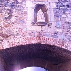 Photo taken at Arco de Santa Ana by Francisco S. on 1/3/2013