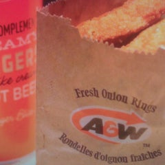 Photo taken at A&W by Thomas W. on 7/30/2013