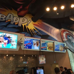 Photo taken at Captain America Diner by Gastón P. on 4/18/2015