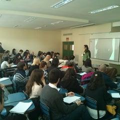 Photo taken at Facultad de Ciencias Económicas (UBA) by Carlos M. on 5/16/2013