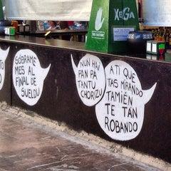 Photo taken at Plaza de Riego by Alejandro F. on 9/14/2012