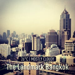 Photo taken at The Landmark Bangkok by tai_n_yan (. on 1/30/2013