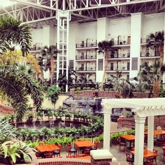 Photo taken at Gaylord Opryland Resort and Convention Center by Greg B. on 4/28/2013