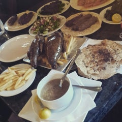 Photo taken at Al Haty Restaurant by Lubna on 3/17/2015