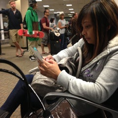 Photo taken at Jetblue Airways SLC Airport by Tetchee Mika T. on 5/18/2013