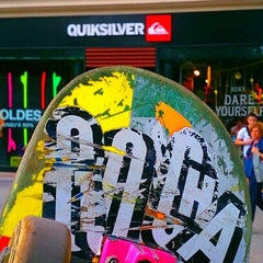 Photo taken at Quiksilver by Julien H. on 7/6/2013