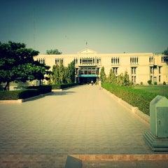 Photo taken at Isra University by Khizar Bilal M. on 11/4/2013