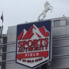 Photo taken at Sports Authority Field at Mile High by Douglas M. on 10/4/2012