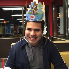 Photo taken at Burger King® by Gutinho R. on 1/18/2015