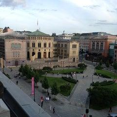 Photo taken at Best Western Karl Johan Hotell by Ola J. on 6/25/2013