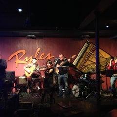 Photo taken at Ryles Jazz Club by Karlan M. on 12/20/2012