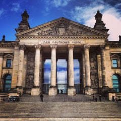 Photo taken at Reichstag by Joyce T. on 4/15/2013