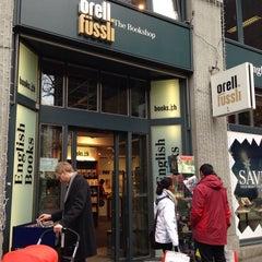 Photo taken at Orell Füssli - The Bookshop by Meem A. on 1/2/2014