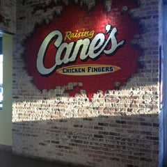 Photo taken at Raising Cane's Chicken Fingers by Jesse C. on 4/15/2013