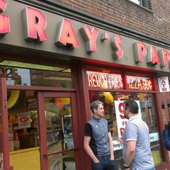 Photo taken at Gray's Papaya by Melvyn G. on 4/28/2013