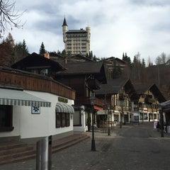 Photo taken at Restaurant Hotel Rössli by Eric L. on 11/29/2014