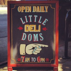 Photo taken at Little Dom's by Mike T. on 5/11/2013