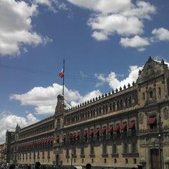 Photo taken at Plaza de la Constitución (Zócalo) by Cesar A. on 6/2/2013