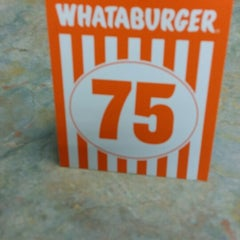 Photo taken at Whataburger by Victor R. on 4/8/2014