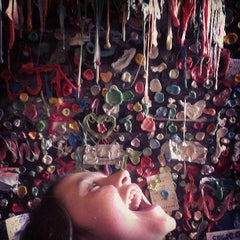 Photo taken at Gum Wall by TJ H. on 6/29/2013